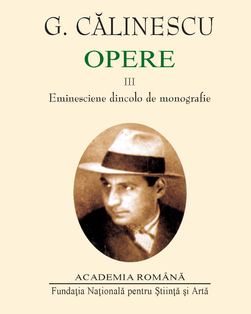Opere Vol I-III - Eminescu