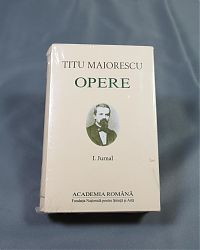 Titu MAIORESCU Jurnal Vol I