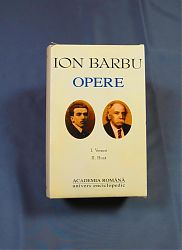 Ion BARBU Opere Vol. I-II