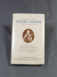 Dimitrie CANTEMIR Descriptio Moldavie